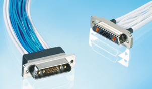 Micro-D 同軸・電源・多芯複合コネクタ(JMCXシリーズ)