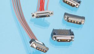 JMCXマイクロD多芯同軸コネクタ