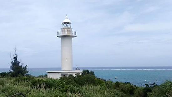 島の南東に位置する『赤崎灯台』